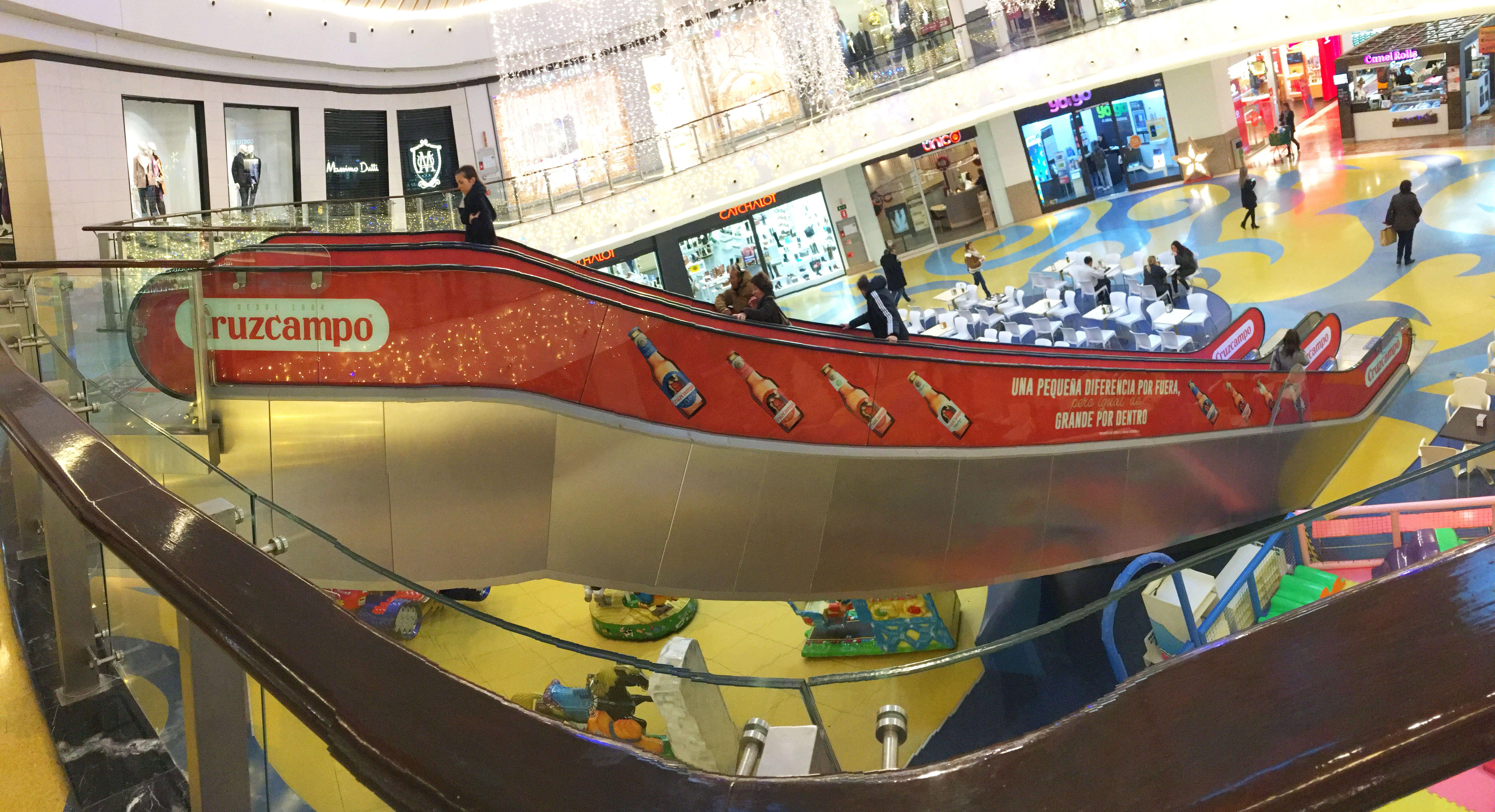 Marketing espectacular centros comerciales