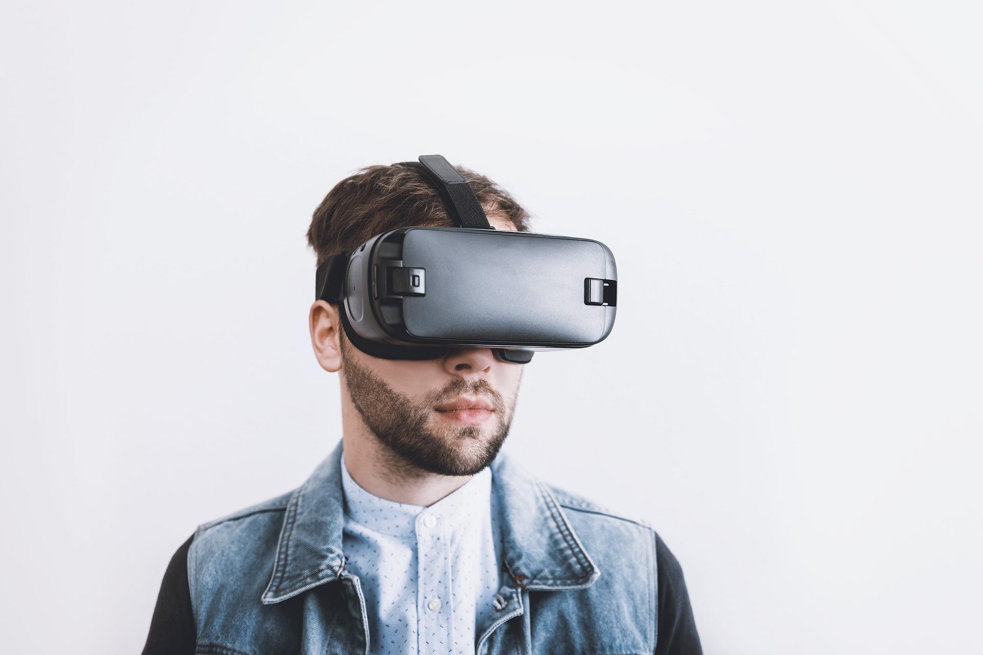 Gafas de realidad aumentada. 3D. Oculus